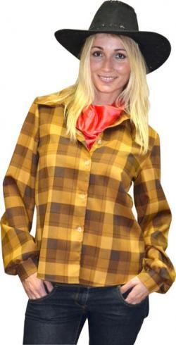 chemise cowboy femme d guisement cowboy un air de f tes. Black Bedroom Furniture Sets. Home Design Ideas